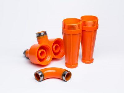 Полиуретановые изделия для ситогидроциклонных установок