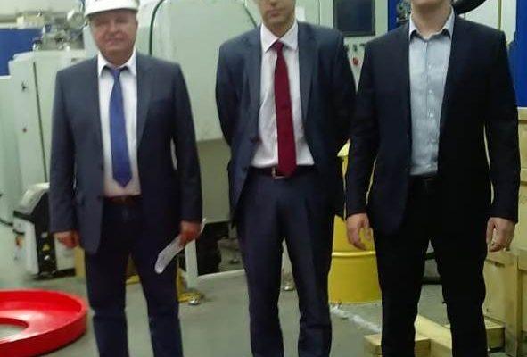 """Визит Олега Александрина на """"Уником-Сервис"""""""
