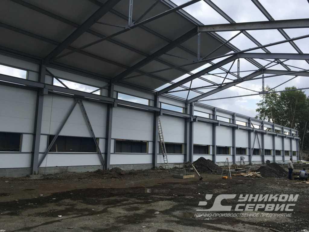 """Строительство нового цеха Уником-Сервис"""""""