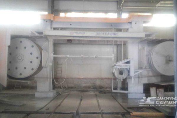 Комплектующие для канатных станков алмазной резки | Восстановление полиуретанового покрытия натяжных, обводных и приводных барабанов