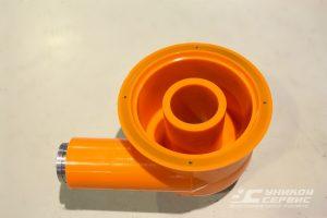 Улитка УС 016.007.1. Полиуретановые изделия для ситогидроциклонных установок.