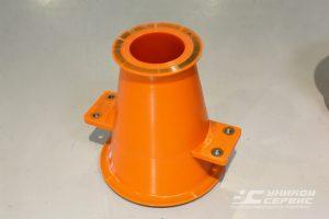 Конус большой УС 016.007.2. Полиуретановые изделия для ситогидроциклонных установок.