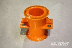 Корпус УС 016.007.3. Полиуретановые изделия для ситогидроциклонных установок.
