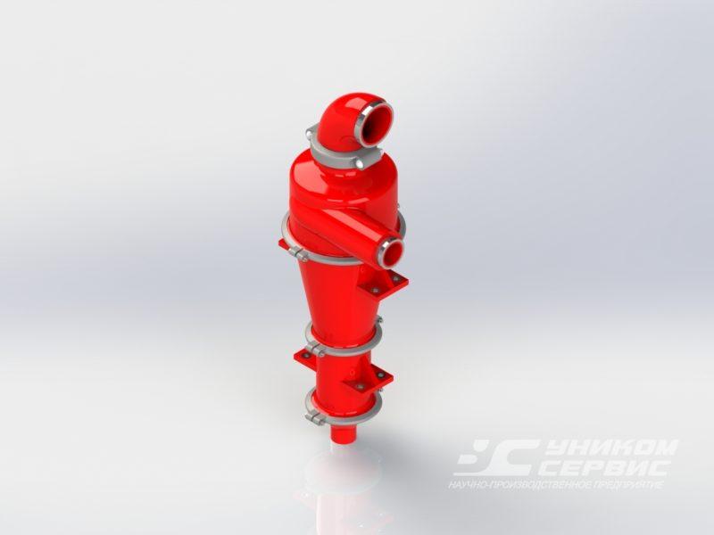 Гидроциклон пескоотделителя полиуретановый